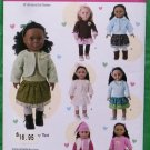 Simplicity 1515 Doll Clothes Pattern 18 Inch Dolls Casual Clothes MIP