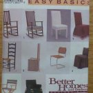 Simplicity Pattern 8329 Home Easy Basics Chair Covers NIP