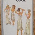 Vintage Simplicity Lingerie Pattern 8862 Slips Full Half Size 14 1978