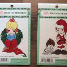 Precious Moments Christmas Iron-on Transfers 1997 MIP