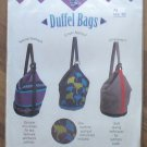 Pattern Duffel Bags Patchwork Machine Applique Suede New