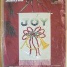Cross Stitch X-Stitch Janlynn Christmas Joy Banner Kit