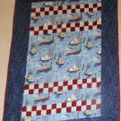 Handmade Quilt Fight Terrorism Washington State Grange Boat Star Design 66X46