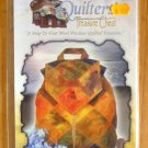 Quilters' Treasure Chest Heirloom Backpack Pattern NIP