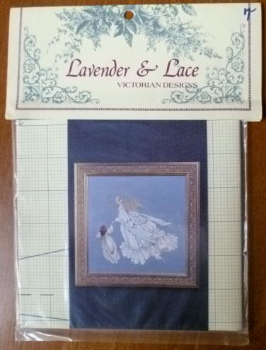 Lavender & Lace Marilyn Leavitt-Imblum Angel of Mercy Cross Stitch Pattern