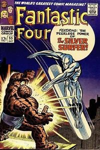 Fantastic Four #55 (Oct 1966, Marvel)