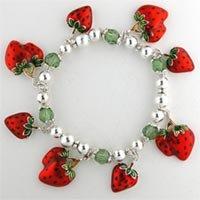 Strawberry Charm Stretch Br.