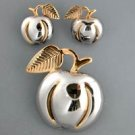 Pendant with pin & Earring Set
