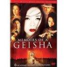 Memoirs of a Geisha (DVD, 2006, 2-Disc Set, Widescreen)