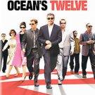 Ocean's Twelve (DVD, 2005, Widescreen)