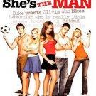 She's the Man (Widescreen Edition), Good DVD, Amanda Crew, Jonathan Sadowski, Al