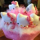 Five Cute Hello Kitty Bouquet, Pink Hello Kitty Bouquet, Best Best Gift for any Occasions