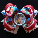 Disney princess hair Bow, Princess Hair Bow, Stacked Hair Bow
