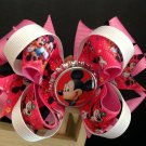 Minnie Mouse Boutique Hair Bow, Bute Stacked Hair Bow