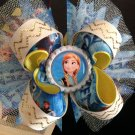 Frozen - Elsa & Anna Hair Bow, Frozen-Snow Queen-Stacked Hair Bow