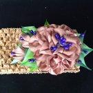 Kanzashi Flower Heandand, Tsumami Kanzashi Flower, Ribbon Flower Headband
