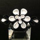 Kanzashi Flower Barrette, Tsumami Kanzashi, Ribbon Flower Barrette
