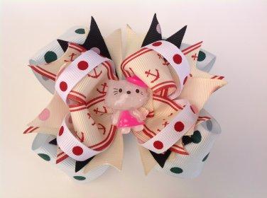 Hello Kitty Stacked Hair Bow