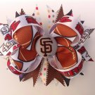 SF-49ERS Stacked Hair Bow, Sport Multiple Color Hair Bow