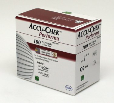 AccuChek Performa 100x3 Diabetic Test Strips(300 Strips) Expiry 10/2014 or Later