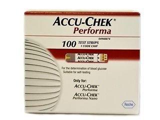 AccuChek Performa 100x3 Diabetic Test Strips(300 Strips) Expiry 11/2014 or Later