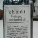 Khadi Bhringraj Pure Herbal Oil with Sandal Oil & Rare Herbs -1 x 210 ML/7fl. Oz