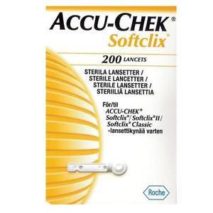Accu Chek SoftClix - 200 Lancets with fresh Expiry 07/2017