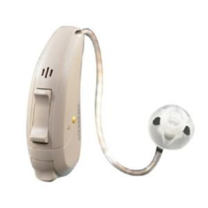 Siemens Pure 3bx Binax RIC Digital Wireless 24 CH Hearing Aid+Easy Pocket Remote