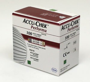 AccuChek Performa 100x3 Diabetic Test Strips(300 Strips) Expiry 06/2017 or Later
