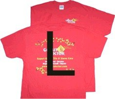 Red T-shirt. Large