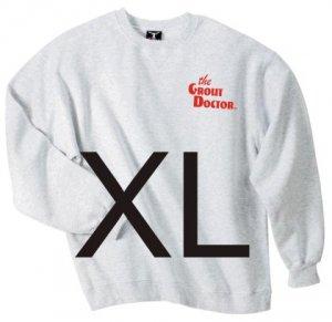 Crew Neck Ash Sweat Shirt X-Large