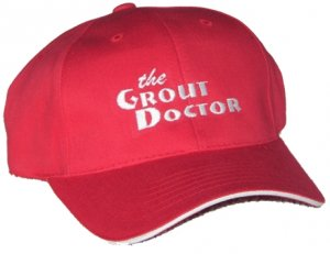 Grout Doctor Hat with sandwich bill.