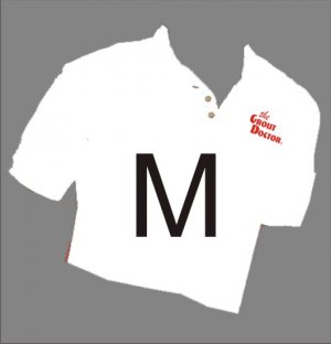 Grout Doctor Sport Shirt White Size Medium
