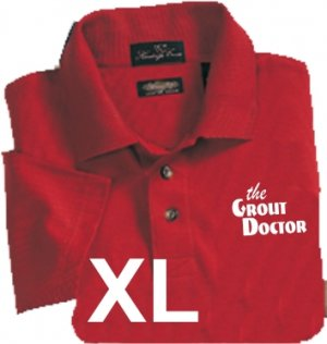 Premium Red Polo X-Large