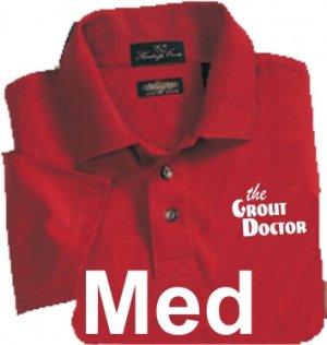 Premium Red Polo Medium