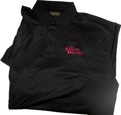 Premium Black Polo XX-Large