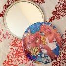 Round hand mirror (Summer)