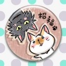 Tin Button Badge(Neko)