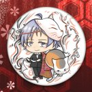 Natsume_fanart pinback button