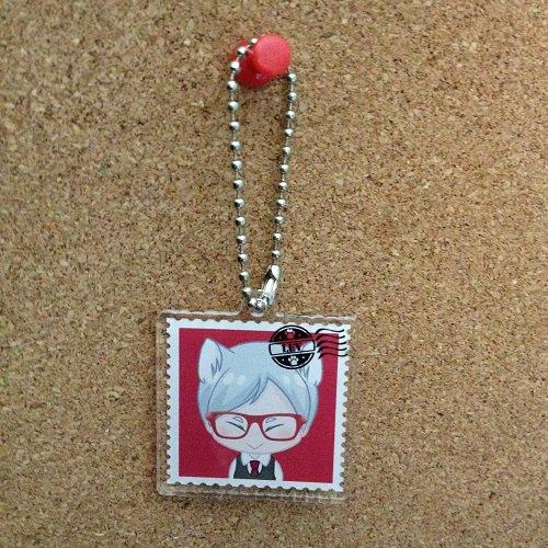 Haikyuu Lev_Acrylic key chain