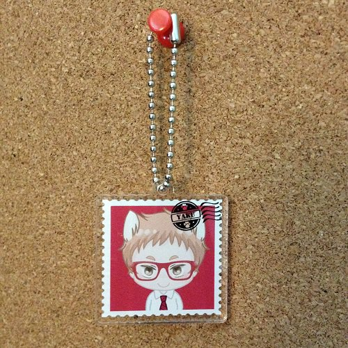 Haikyuu Yaku_Acrylic key chain
