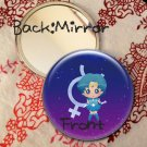 Round hand mirror (Sailor Mercury fan art)