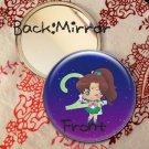 Round hand mirror (Sailor Jupiter fan art)