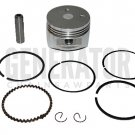 Gas Honda Gx31 Engine Motor RC Bicycle Piston Kit with Rings Parts 39mm