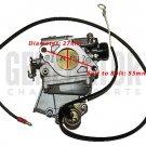 Gas Honda EB11000 Generator Mower Engine Motor Carburetor Carb Parts