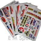 Mini Atv Dirt Pocket Bike Parts Stickers Decal 47 49cc