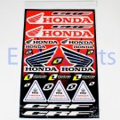 Dirt Pit Bike Moto Scooters Moped Atv Quads Honda CRF Decal Sticker
