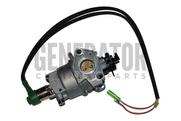 generator carburetor carb w solenoid for honda ez3500. Black Bedroom Furniture Sets. Home Design Ideas