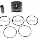 Piston Kit w Rings For Lifan LF168F LF168F-2 Engine Motor 5.5HP 6.5HP