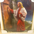 Framed poster of Jesus Christ-glass front